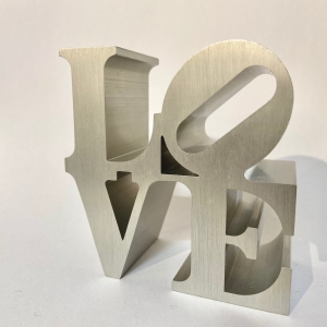 Robert Indiana - LOVE - IMA- silver